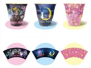 Sailor Moon Melamine Cups