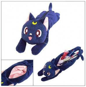 """Sailor Moon """"LUNA"""" Plush Pen Pouch"""