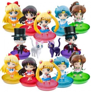 Puchi-Chara! Sailor Moon Figure Box
