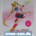 Sailor Moon - Wandkalender 2014