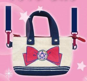 Sailor Moon Mini Tote Bag - Crystal Star Brooch
