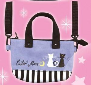 Sailor Moon Mini Tote Bag - Luna and Artemis