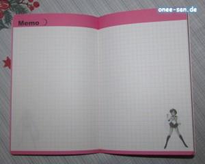 Sailor Moon Pretty Soldier Schedule Book 2014 Memo